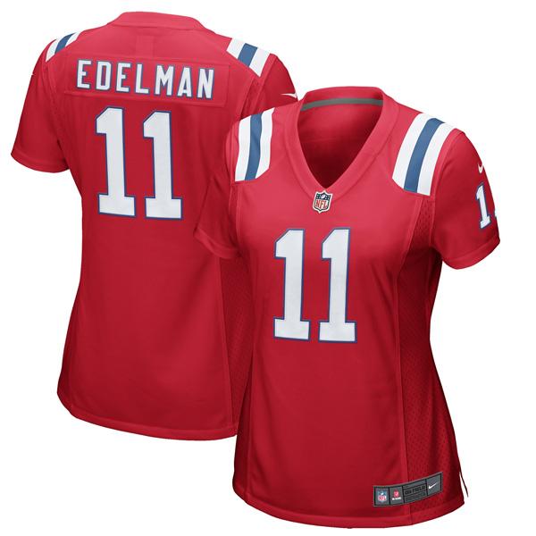 New England Patriots Julian Edelman Jersey - All Stitched